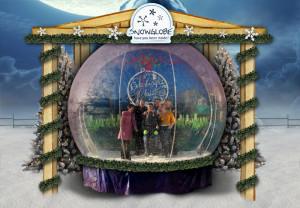 kerst-thema-snow-globe